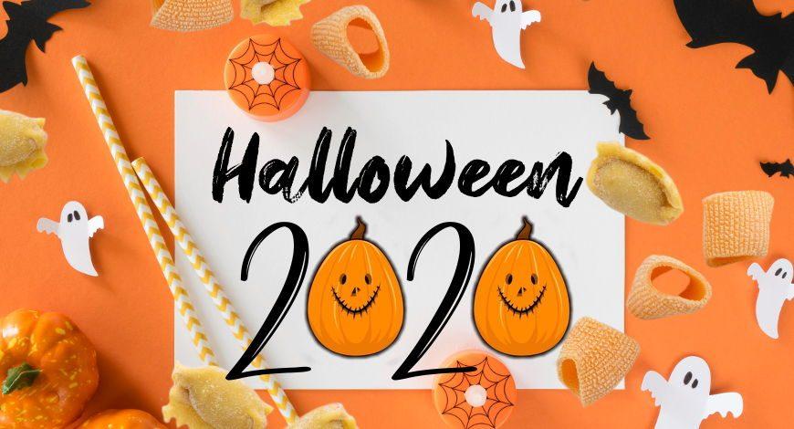 Pasta fresca Halloween pumpkins 2020